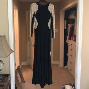 Ball gown, worn to a Mardi Gras ball.